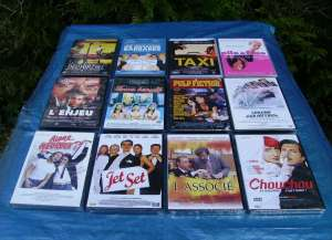 LOT DE 15 DVD FILMS AU CHOIX