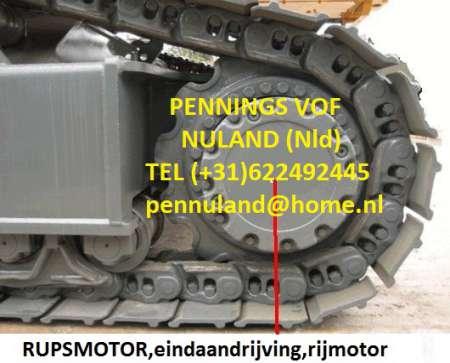 Moteur de chenille;moteur de traction pour mini et midipelle