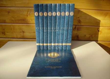 9 LIVRES « Encyclopédie pratique de la Famille »