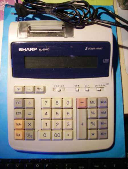 CALCULATRICE DE BUREAU « Sharp »
