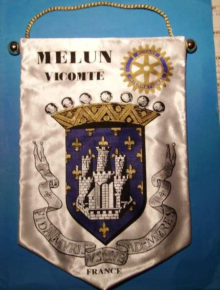 FANION ROTARY-CLUB MELUN-VICOMTE