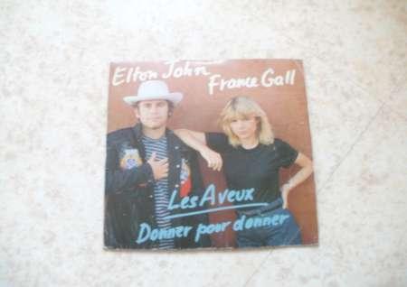 45 T. DIVERS Elton John et France Gall