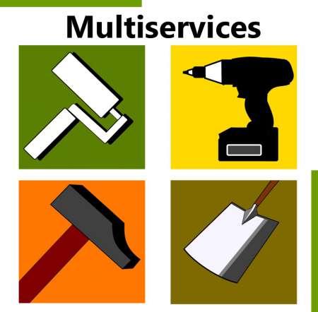 Multiservices bricolage jardinage peinture acheter et for Cherche travaux jardinage