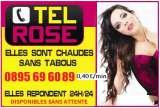 Tel rose Femmes Couguards  0895 89 71 00 (0,45cts)